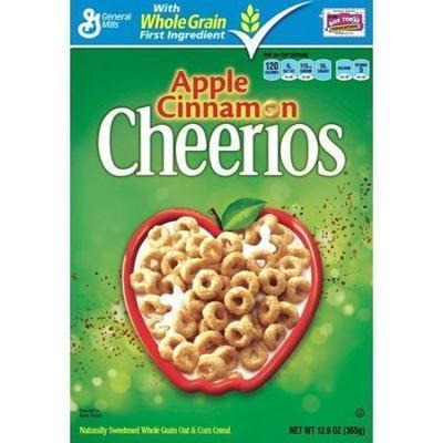 Cheerios Apple Cinnamon Cereal, 12.9 oz