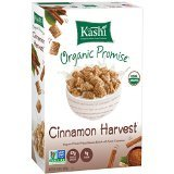 Kashi Organic Promise Cereal, Cinnamon Harvest Whole Wheat Biscuits,