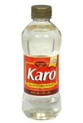 Karo Corn Syrup, Light With Real Vanilla, 16 Oz