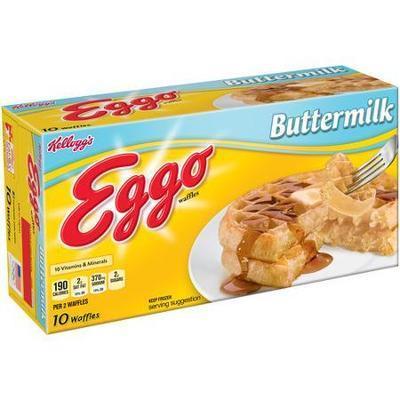 Kellogg's Eggo Buttermilk Waffles, 10 count