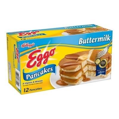 Kellogg's Eggo Buttermilk Pancakes, 12ct