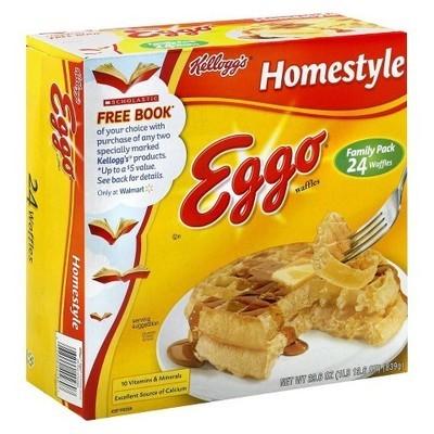 Kellogg's Eggo Homestyle Waffles, 24ct
