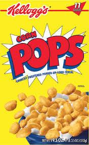 Kellogg's Corn Pops Cereal, 21.4 oz.