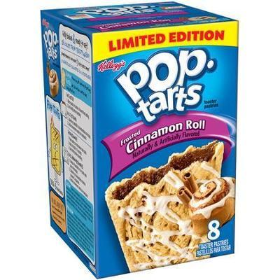 Kellogg's Pop-Tarts Cinnamon Roll Toaster Pastries, 8ct/ 14.1 oz