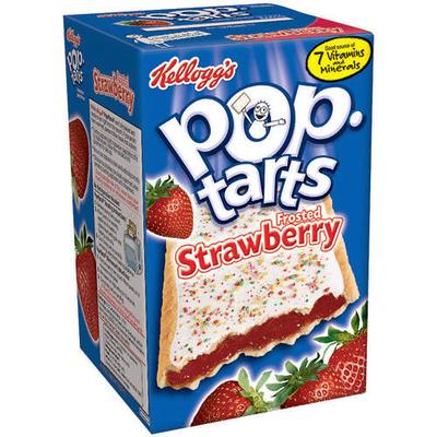Kellogg's Pop-Tarts Strawberry Toaster Pastries, 8ct