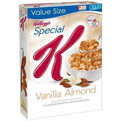 Kellogg's Special K Cereal, Vanilla Almond, 12.5 Ounce