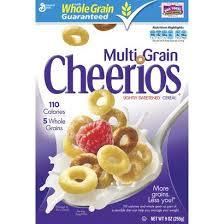 Multi Grain Cheerios Cereal, 11.3 Ounce