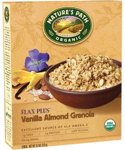 Nature's Path Flax Vanilla Almond Granola, Organic