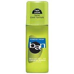 Ban - Roll on deodorant, powder fresh scent
