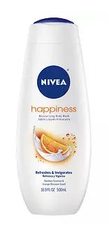 Nivea Happiness Moisturizing Body Wash- 16.9 fl oz