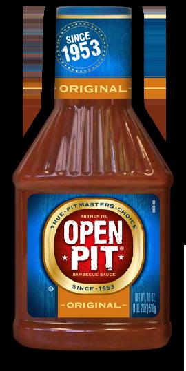 Open Pitt BBQ Sauce