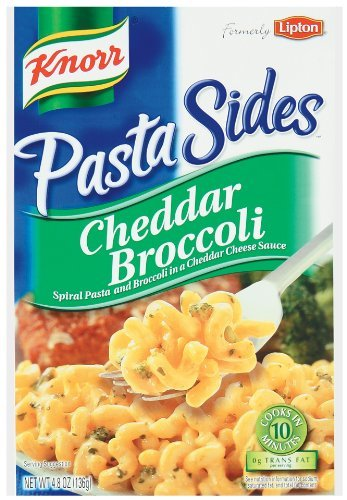 Knorr Pasta Sides Cheddar Broccoli, 4.8 oz
