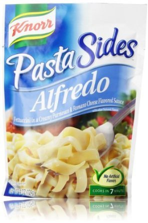 Knorr Pasta Sides Fettuccini In A Creamy Parmesan & Romano Cheese Sauce, 4.4 oz