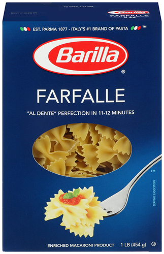 Barilla: Farfalle Pasta, 1 Lb