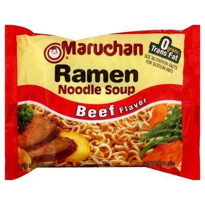 Ramen Noodles Beef