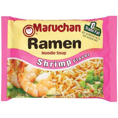 Ramen Noodles Shrimp