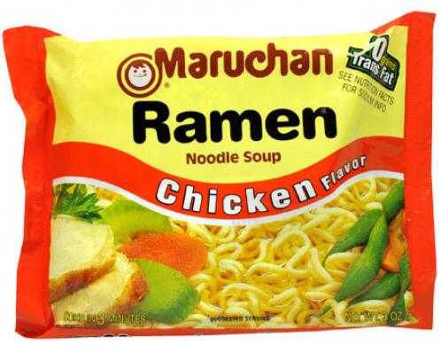 Ramen Noodles Chicken