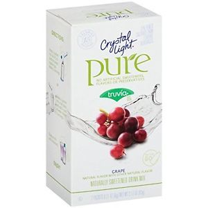 Crystal Light Grape Pure Fitness On The Go Drink Mix, 7ct
