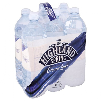 Highland Spring Water, 1.5 L, 6 pc