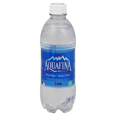 Aquafina water, 1 liter