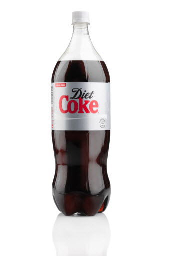 Diet Coke soda, 2 liter