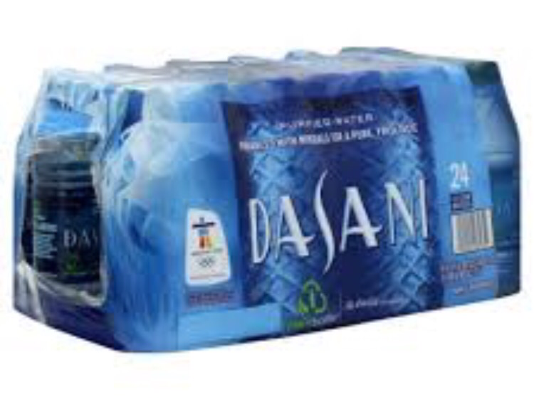 Dasani Water, 20oz, 24pc