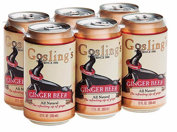 Gosling Ginger Beer 6 Pack
