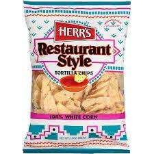 Herr's: Restaurant Style Tortilla Chips, 9 Oz