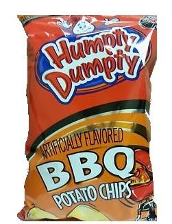 Humpty Dumpty BBQ Potato Chips, 10.5 oz