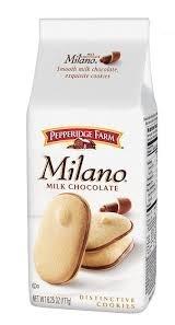 Pepperidge Farm: Milano Milk Chocolate Cookies, 6.25 Oz