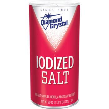 Diamond Crystal Iodized Salt 26 oz
