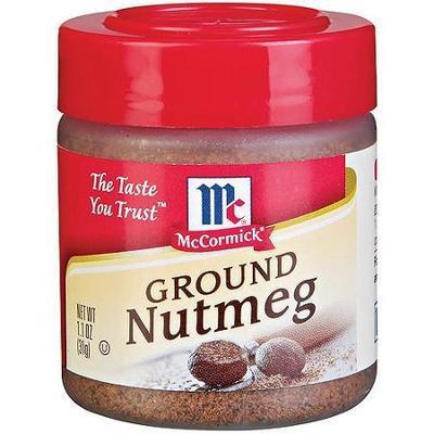 McCormick Ground Nutmeg - 1 Jar (1.10 oz)