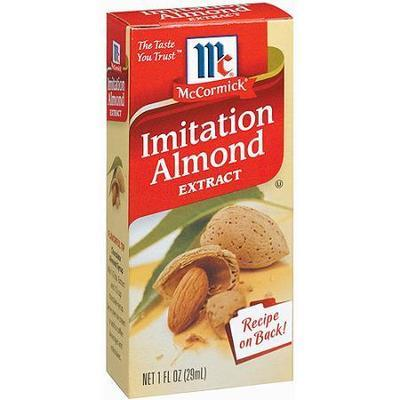 McCormick Specialty Extracts Imitation Almond Extract, 1 oz
