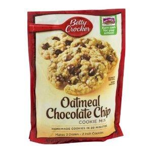 Betty Crocker Cookie Mix, chocolate Chip, 17.5 oz.