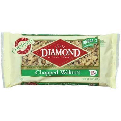 Diamond Of California: Chopped Walnuts, 8 oz.
