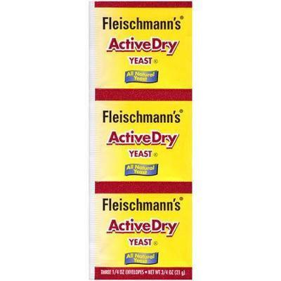 Fleischmann's Active Dry Yeast, 0.75 oz Packet