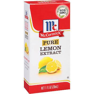 Lemon extract 2oz