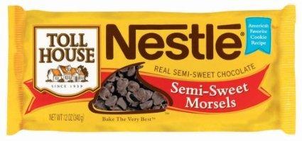 Toll House Morsels - Real Semi-Sweet Chocolate - 1 Bag (12 oz)