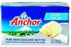 Anchor New Zealand butter