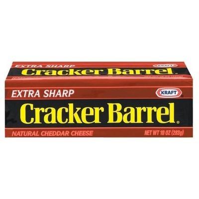 Kraft Cracker Barrel: Sharp Cheddar Cheese, 8 Oz
