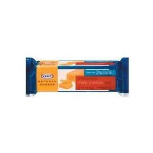 Kraft Natural Cheddar Sharp Cheese Chunk, 8 oz