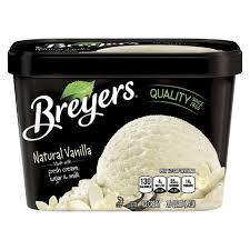Breyers: Natural Vanilla All Natural, 1.5 Qt