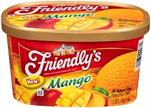 Friendly' Mango ice cream