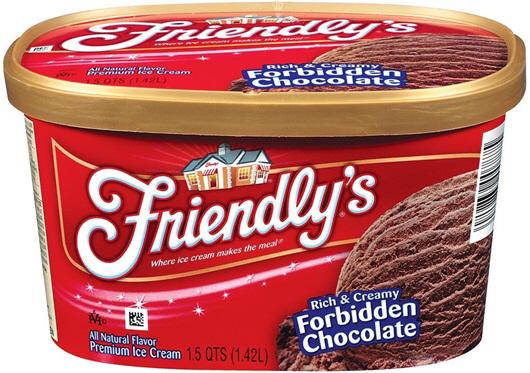 Friendly's, Chocolate ice cream