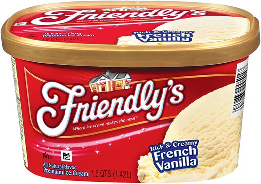 Friendly's, French Vanilla ice cream