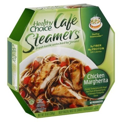 Healthy Choice: Cafe Steamers Chicken Margherita, 10 Oz