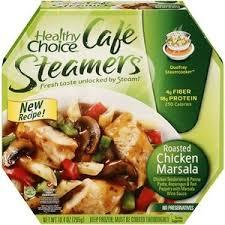 Healthy Choice: Cafe Steamers Roasted Chicken Marsala, 10.4 Oz