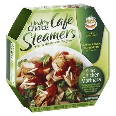 Healthy Choice: Cafe Steamers Grilled Chicken Marinara, 10 Oz