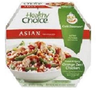Healthy Choice: Asian Inspired Cafe Steamers Sweet & Spicy Orange Zest Chicken, 10.1 Oz