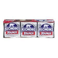 Klondike: Krunch Bar 4.5 Oz Ice Cream Bars, 6 Ct